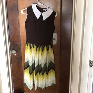 Modcloth Queen of Heartz dress size small